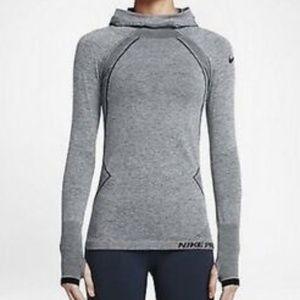 Nike Pro Hyperwarm Limitless Training Hoodie Top